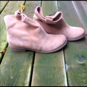Nude Sole Society Natasha Ankle Boots SZ 11